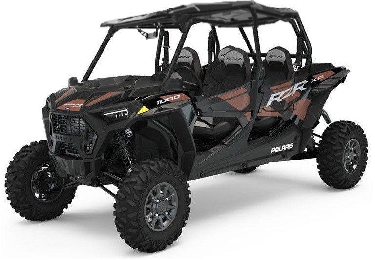 2021 4 Seat Polaris RZR 1000 Matte Copper